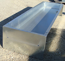 Galvanized Bunk Feeder