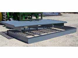 Removable Box for Cattle Guard